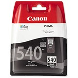 Image of Canon PG-540 Black Inkjet Cartridge