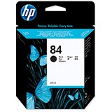 Image of HP 84 Black Ink Cartridge