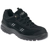 Image of Sterling Apache Safety Trainer Shoes / Size 3 / Black