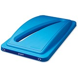 Image of EcoSort Recycling System Waste Lid for Paper - Blue