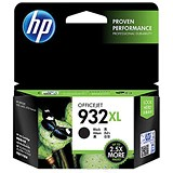 Image of HP 932XL Black Ink Cartridge