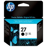 Image of HP 27 Black Ink Cartridge