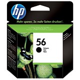Image of HP 56 Black Ink Cartridge