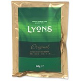 Image of Lyons Original Ground Coffee for Filter / 3 Pint Sachet / Pack of 50