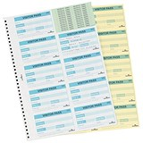 Image of Durable Visitors Book Refill of 300 Badge Inserts