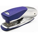 Image of Rexel Matador Pro Stapler for 26/6 & 24/6 Staples - Silver & Blue