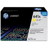 Image of HP 641A Yellow Laser Toner Cartridge