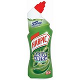 Harpic Active Toilet Cleaning Gel / Pine / 750ml
