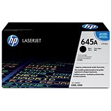 Image of HP 645A Black Laser Toner Cartridge