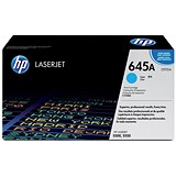 Image of HP 645A Cyan Laser Toner Cartridge
