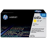 Image of HP 645A Yellow Laser Toner Cartridge