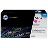 Image of HP 645A Magenta Laser Toner Cartridge