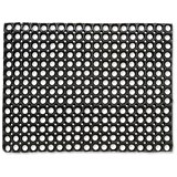 Image of Doortex Rubber Octomat / 600x800mm / Black