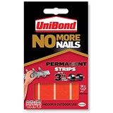 Image of Unibond 'No More Nails' Strips / Ultra Strong / Permanent / Pack of 12