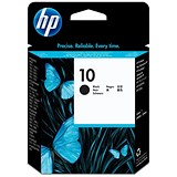 Image of HP 10 Black Ink Cartridge