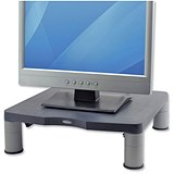 Image of Fellowes Monitor Riser / 17 inch CRT 21 inch TFT / 27kg Capacity / 51-102mm / Graphite