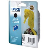 Image of Epson T0481 Black Inkjet Cartridge