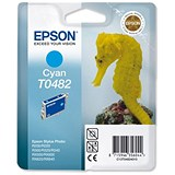 Image of Epson T0482 Cyan Inkjet Cartridge