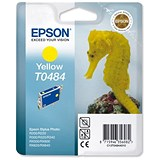 Image of Epson T0484 Yellow Inkjet Cartridge