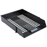 Image of Everyday Letter Tray - Black