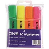 Image of Everyday Highlighters / Assorted Colours / Pack of 4