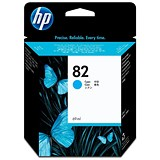Image of HP 82 Cyan Ink Cartridge