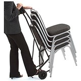 Image of Trexus Chair Trolley for 10 Stacking Chairs