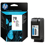 Image of HP 78 Colour Ink Cartridge - Low Capacity
