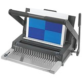 GBC MultiBind 420 Manual Binding Machine - Comb, Click and Wire