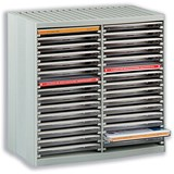 Image of CD Storage Spring Case for 30 Disks - Grey