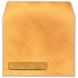 Sage Compatible Payslip Wage Envelopes with Window / Manilla / / Pack of 1000