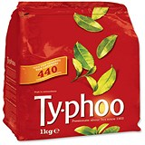 Typhoo 1 Cup Tea Bags / Vacuum-packed / Pack of 440