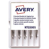 Image of Avery Replacement Needles for Standard Tagging Gun / NTGS005 / Pack of 5