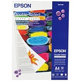 Image of Epson A4 Heavyweight Double-Sided Matte Photo Paper / White / 178gsm / Pack of 50