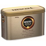 Image of Nescafe Gold Blend Instant Coffee - 500g Tin
