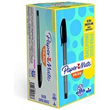 Image of Paper Mate InkJoy 100 Ballpoint Pen / Black / Pack of 50 / Offer Includes FREE Assorted Pack of Pens