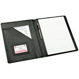 Image of 5 Star Executive Conference Folder / W245xH320mm / Leather / Black