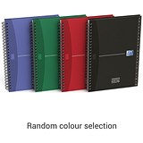 Image of Oxford Office Wirebound Hardback Address Book / 144 Pages / A5