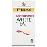 Image of Twinings Infusion White Tea and Pomegranate Tea Bags / Individually-wrapped / Pack of 20