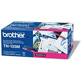 Image of Brother TN135M Magenta Laser Toner Cartridge