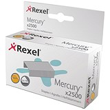 Rexel Mercury Heavy Duty Staples - Pack of 2500