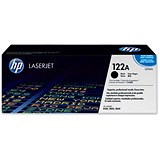 HP 122A Black Laser Toner Cartridge