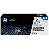 Image of HP 122A Cyan Laser Toner Cartridge