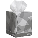 Image of Kleenex Facial Tissues / 2-Ply / 12 Boxes of 90 Sheets
