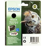 Image of Epson T0791 Black Claria Inkjet Cartridge