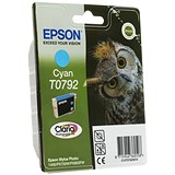 Image of Epson T0792 Cyan Claria Inkjet Cartridge