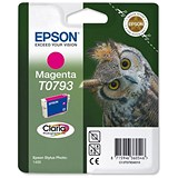 Image of Epson T0793 Magenta Claria Inkjet Cartridge