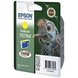 Image of Epson T0794 Yellow Claria Inkjet Cartridge