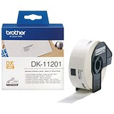 Image of Brother Label Address Standard 29x90mm White Ref DK11201 [Roll of 400]