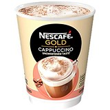 Image of Nescafe & Go Cappuccino - Sleeve of 8 Cups